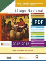 Catalogo Nacional Ef 2012-13