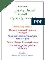 Mendulang Berkah Dengan Yayasan Salafiyyah