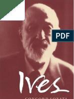 Ives Concord Sonata (Book)