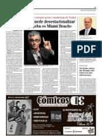 20-10-2011 'Un destino se puede desestacionalizar en 6 aliis, la prueba es Miami Beach' (Entrevista Bruce Turkel)