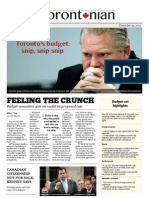 The Torontonian page 1