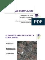 Sistemas Complejos - Clase 4