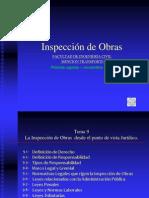 Tema 9 La Inspección de Obras desde el punto de vista jurídico completo