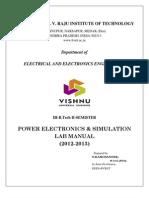 PE Lab manual (2012-2013)