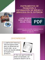INSTRUMENTOS DE PROMOCIÓN E INFORMACIÓN DE BIENES Y