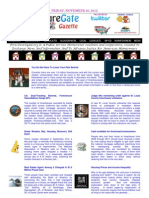 Friday - November 16, 2012 - ForeclosureGate Gazette