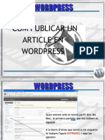 Publicar Post Amb Wordpress