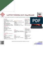 Toshiba Sat. c645-Sp4175m