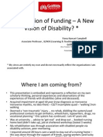 A New Vision of Funding – A New