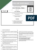 226 - Derecho Procesal Penal I