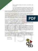 Declaración Huelga Sindicato Salud UC