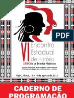 Caderno de Programação_6o_Encontro_Estadual_História_UESC