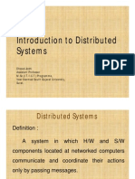Distributed Computing 1 - Introduction
