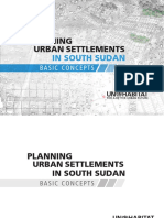 Planning Urban Settlements in South Sudan