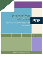 Major Educational Philosophies