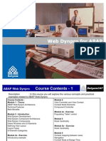 ABAP Web Dynpro Training Material