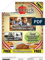 Frederick County Report, November 16 - 29, 2012