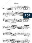 Johann Sebastian Bach Gigue E Minor BWV 966