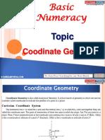 Basic Numeracy Coordinate Geometry
