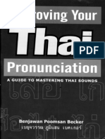 01 Improving Your Thai Pronunciation a Guide to Mastering Thai Sounds