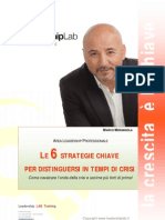 Le 6 Strategie Chiave