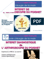 L'arthroscopie du poignet