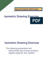 Isometric Drawing Exercise