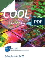 Cool Silicon Jahresbericht 2010