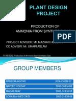 ammonia Presentation