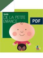 Guide Petite Enfance2012