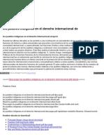 los pueblos indigenas en el derecho internacional descargar gratis pdf