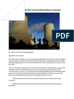 Guy Oppenheim and the Cost of Carbon Action; Or Inaction