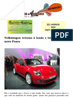 Volkswagen retorna à lenda e traz de volta o novo Fusca