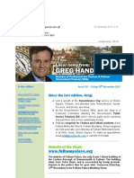 News Bulletin from Greg Hands M.P. #351