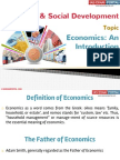 20(A) Introduction Indian Economy