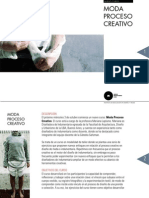 Moda Proceso Creativo Booklet 2012