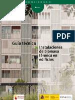 Instalaciones de biomasa térmica en edificios