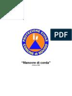 Manovre Corda