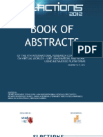Book of Abstracts SLACTIONS 2012