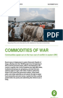 Commodities of War: Communities speak out on the true cost of conflict in eastern DRC