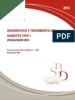 Diagnostico e Tratamento Diabetes Melittus 1 - 2012
