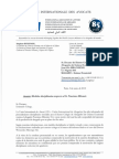 Cartas. Decano Colegio Abogados Guinea Ecuatorial