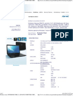 Productos Item_ Notebook Core i5; Advance Computer Corp; Nb Ps6476 Ci5 2450m_4_500_w7hp