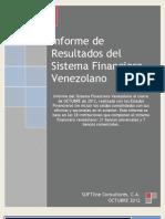 Informe Banca Octubre 2012