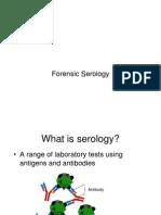 Forensic Serology Notes
