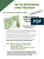 Tree Sale Flyer 12_1