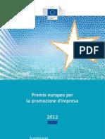 Premio europeo per la promozione d'impresa 2012