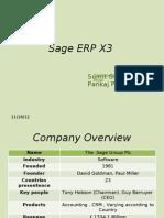 Sage ERP X3 Modified
