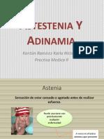 Astestenia y Adinamia