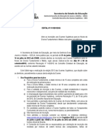 Edital Dos Exames Supletivos 2012 ASJUR